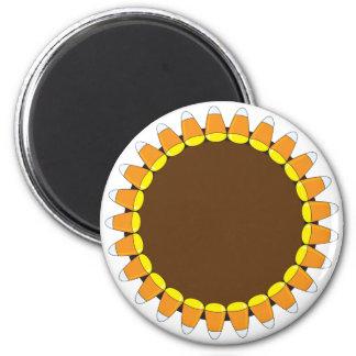 Guirnalda de las pastillas de caramelo imán redondo 5 cm