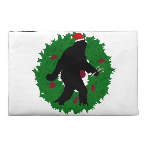 Guirnalda de Squatchin del navidad