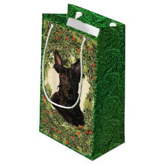 Guirnalda de Terrier del escocés Bolsa De Regalo Pequeña
