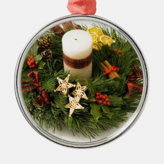 Guirnalda del advenimiento ornamento para arbol de navidad