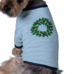 Guirnalda del día de fiesta camisas de perritos