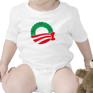 Guirnalda del día de fiesta de Obama Camiseta