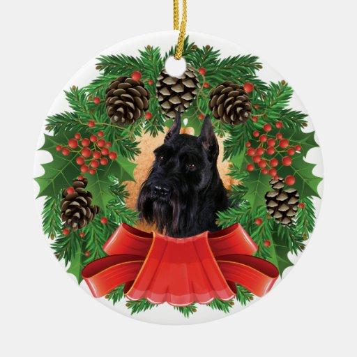 Guirnalda del día de fiesta del navidad del Schnau Adornos De Navidad