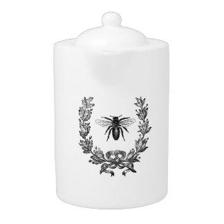 Guirnalda del francés del vintage con la abeja