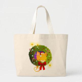 Guirnalda del navidad bolsa de mano