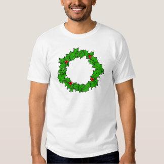 Guirnalda del navidad camisas