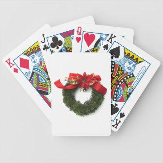 Guirnalda del navidad cartas de juego