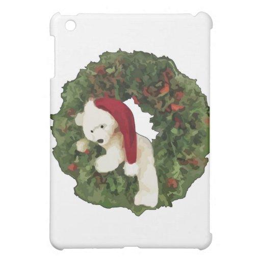 Guirnalda del navidad con el oso