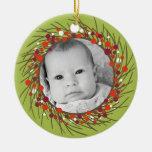 Guirnalda del navidad: De doble cara Ornamento De Reyes Magos