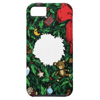 Guirnalda del navidad iPhone 5 protectores