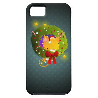Guirnalda del navidad iPhone 5 Case-Mate cobertura