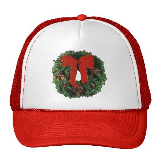Guirnalda del navidad gorras