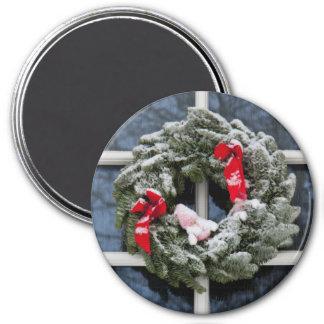 Guirnalda del navidad Nevado Imán