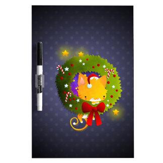 Guirnalda del navidad pizarras