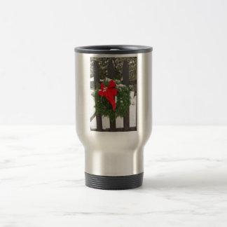Guirnalda del navidad tazas de café