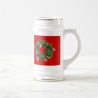 Guirnalda del navidad taza