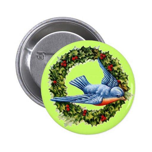 Guirnalda del pájaro del vintage pins