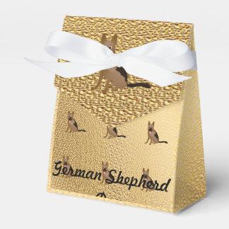 Guirnalda del pastor alemán cajas para regalos