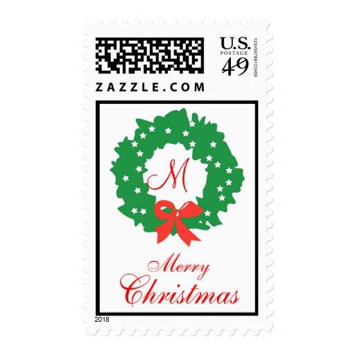Guirnalda del sello de las Felices Navidad del mon