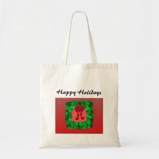 Guirnalda elegante del navidad bolsas