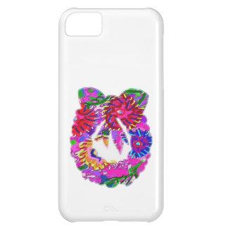 Guirnalda floral de la flor ART101 por Navin Funda Para iPhone 5C