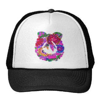 Guirnalda floral de la flor ART101 por Navin Gorros Bordados