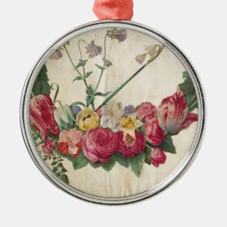 Guirnalda floral del arte del vintage adornos