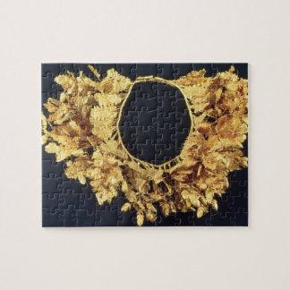 Guirnalda, Griego, fin del siglo IV A.C. (oro) Puzzles