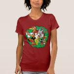 Guirnalda LOONEY del navidad del grupo de TUNES™ T Shirts