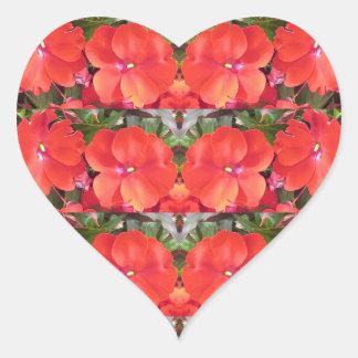 Guirnalda NVN218 NavinJOS de la fila de la Pegatina En Forma De Corazón