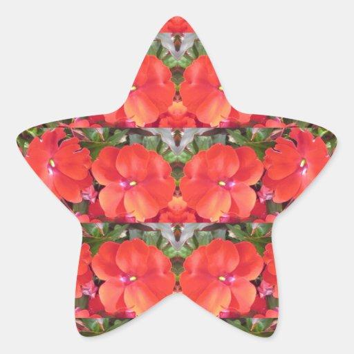 Guirnalda NVN218 NavinJOS de la fila de la Calcomanías Forma De Estrella Personalizadas