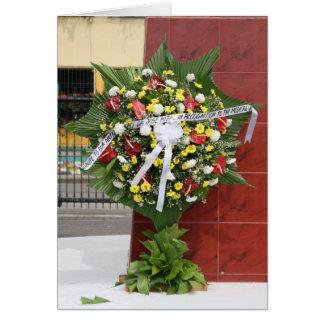 Guirnalda para Rizal Tarjeta De Felicitación