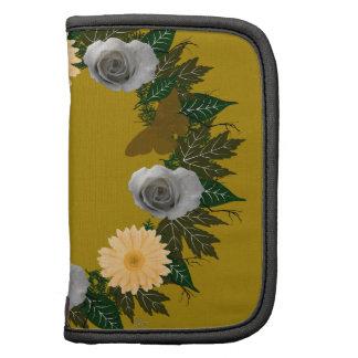 """Guirnalda """"planificador en folio de las flores"""