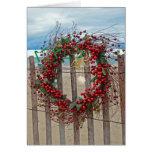 Guirnalda tropical del navidad tarjeta de felicitación