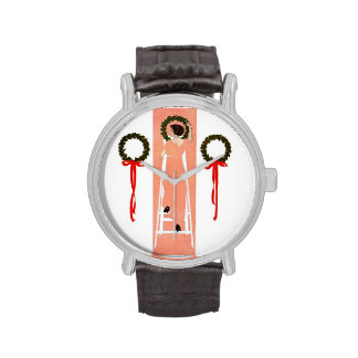 Guirnaldas colgantes reloj de mano