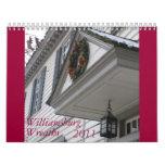 Guirnaldas de Williamsburg Calendarios
