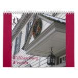 Guirnaldas de Williamsburg Calendario