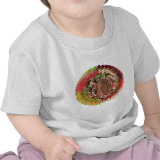 Guirnaldas del arco iris camisetas