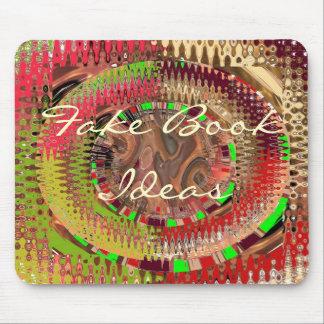Guirnaldas del arco iris mouse pads