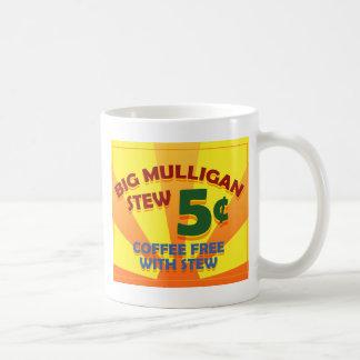 Guisado de Mulligan grande Taza De Café
