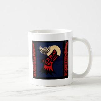 Guisado del claro de luna taza de café