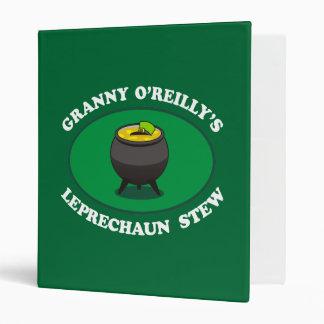"Guisado del Leprechaun de O'Reilly de la abuelita Carpeta 1"""