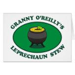Guisado del Leprechaun de O'Reilly de la abuelita Felicitación