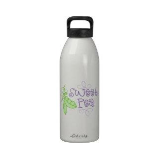 Guisante de olor botella de beber