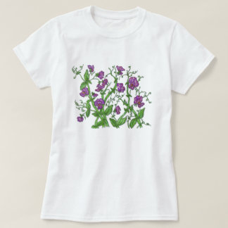 Guisante de olor camisas