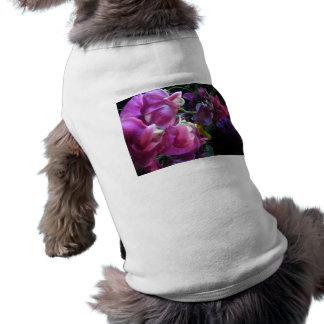Guisante de olor playera sin mangas para perro