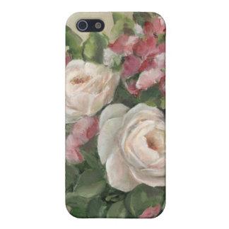 Guisante de olor y ramo color de rosa iPhone 5 funda