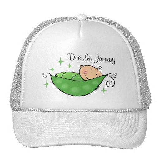 Guisante en mi gorra personalizado vaina