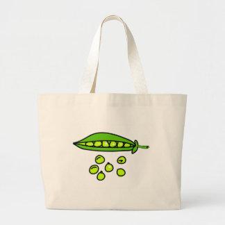 guisantes bolsas