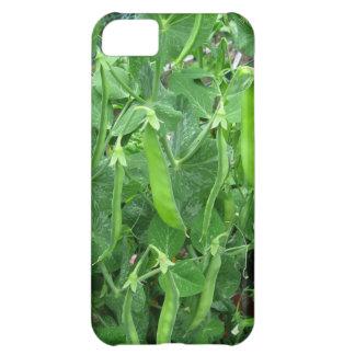 Guisantes comestibles preparados - fotografía funda para iPhone 5C